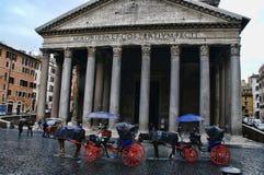 Ιταλία pantheon Ρώμη Στοκ Εικόνες