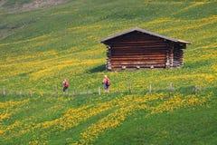 Ιταλία, Trentino Alto Adige, Siusi allo Sciliar Στοκ Φωτογραφία