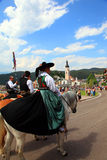 Ιταλία, Trentino Alto Adige, Siusi allo Sciliar Στοκ φωτογραφίες με δικαίωμα ελεύθερης χρήσης