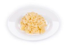 ιταλικά ζυμαρικά νόστιμα Στοκ Εικόνα