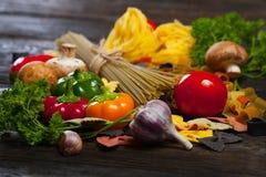 ιταλικά ζυμαρικά τρόφιμα έννοιας υγιή Στοκ φωτογραφίες με δικαίωμα ελεύθερης χρήσης