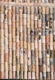 Ιταλικά κεραμίδια στεγών Στοκ Φωτογραφίες