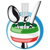 Ιταλικά μαχαιροπήρουνα Στοκ Εικόνα