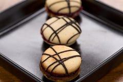 Ιταλικά ορισμένα γλυκά κέικ (macaron) Στοκ φωτογραφίες με δικαίωμα ελεύθερης χρήσης