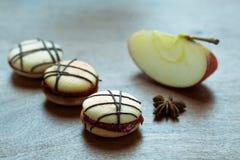 Ιταλικά ορισμένα γλυκά κέικ (macaron) Στοκ Εικόνα