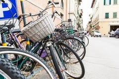 Ιταλικά παλιά ποδήλατα Στοκ εικόνα με δικαίωμα ελεύθερης χρήσης