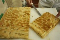 Ιταλικά τρόφιμα, γνήσιο genoese κέικ Στοκ Εικόνες