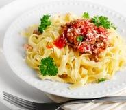 Ιταλικά τρόφιμα Στοκ φωτογραφία με δικαίωμα ελεύθερης χρήσης