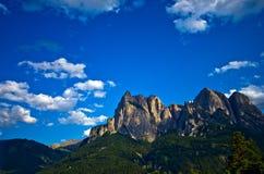 Ιταλικές Άλπεις - το Sciliar Στοκ Φωτογραφία