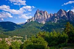 Ιταλικές Άλπεις - το Sciliar Στοκ εικόνα με δικαίωμα ελεύθερης χρήσης
