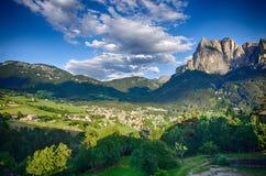 Ιταλικές Άλπεις - το Sciliar Στοκ Εικόνα