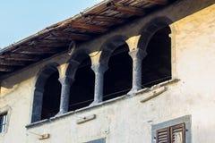 Ιταλικές αψίδες Στοκ Φωτογραφίες