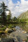 Ιταλική λίμνη Άλπεων Arpy Στοκ φωτογραφία με δικαίωμα ελεύθερης χρήσης