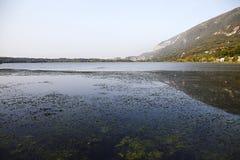 Ιταλική λίμνη Στοκ εικόνα με δικαίωμα ελεύθερης χρήσης