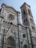 Ιταλική αρχιτεκτονική εκκλησιών Στοκ Εικόνες