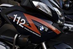 Ιταλική αστυνομία Carabinieri της BMW μοτοσικλετών Στοκ Φωτογραφίες