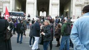 Ιταλική επίδειξη εκπαιδευτικών συστημάτων απόθεμα βίντεο