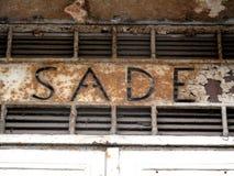 Ιταλική ηλεκτρική επιχείρηση λογότυπων SADE (τώρα Enel) Στοκ εικόνες με δικαίωμα ελεύθερης χρήσης