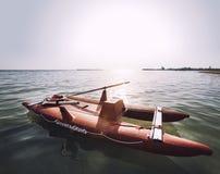 Ιταλική διάσωση βαρκών lifeguard Στοκ Φωτογραφία