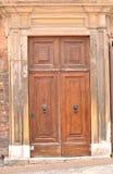 Ιταλική μπροστινή πόρτα Στοκ Εικόνες
