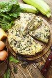 Ιταλική πίτα με τα κολοκύθια Στοκ φωτογραφίες με δικαίωμα ελεύθερης χρήσης