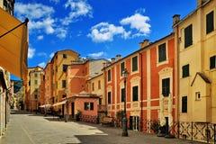 Ιταλική παλαιά οδός πόλεων Στοκ Εικόνες