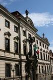 Ιταλική πρεσβεία _Πράγα Στοκ Εικόνες