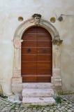 Ιταλική πόρτα Στοκ φωτογραφίες με δικαίωμα ελεύθερης χρήσης