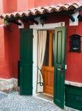 Ιταλική πόρτα Στοκ εικόνα με δικαίωμα ελεύθερης χρήσης