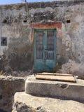 Ιταλική πόρτα Στοκ εικόνες με δικαίωμα ελεύθερης χρήσης