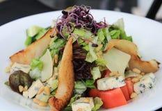 Ιταλική σαλάτα με το κοτόπουλο στοκ εικόνα