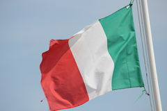 Ιταλική σημαία (Tricolore) Στοκ Φωτογραφία