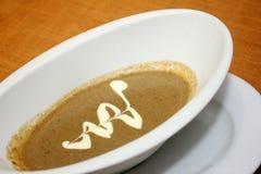 Ιταλική σούπα πατατών και πράσων Στοκ φωτογραφία με δικαίωμα ελεύθερης χρήσης