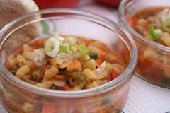 Ιταλική σούπα minestrone Στοκ Εικόνες