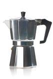 Ιταλικός κατασκευαστής καφέ στοκ εικόνες
