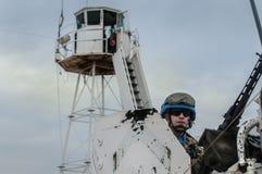 Ιταλικός στρατιώτης αστυφυλάκων στο Λίβανο στοκ εικόνες με δικαίωμα ελεύθερης χρήσης