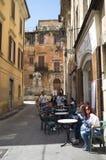 Ιταλικός φραγμός καφέ Στοκ Εικόνες