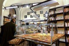 Ιταλικό αρτοποιείο στοκ εικόνες