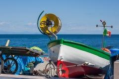 Ιταλικό αλιευτικό σκάφος Στοκ εικόνες με δικαίωμα ελεύθερης χρήσης