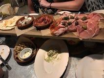 Ιταλικό γεύμα Στοκ Εικόνα