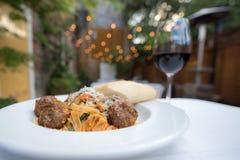 Ιταλικό λεπτό να δειπνήσει στοκ εικόνες με δικαίωμα ελεύθερης χρήσης