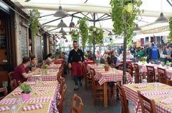 ιταλικό εστιατόριο Στοκ φωτογραφίες με δικαίωμα ελεύθερης χρήσης