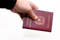 ιταλικό διαβατήριο Στοκ Φωτογραφία