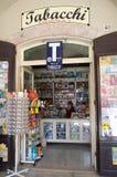 Ιταλικό κατάστημα καπνών Στοκ Φωτογραφία