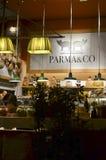 Ιταλικό κατάστημα τροφίμων Στοκ εικόνες με δικαίωμα ελεύθερης χρήσης