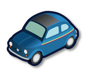 Ιταλικό μπλε αυτοκίνητο oldtimer Στοκ φωτογραφίες με δικαίωμα ελεύθερης χρήσης