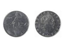 Ιταλικό νόμισμα Στοκ φωτογραφίες με δικαίωμα ελεύθερης χρήσης