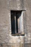 Ιταλικό παράθυρο καταστροφών Στοκ εικόνα με δικαίωμα ελεύθερης χρήσης