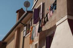 ιταλικό παράθυρο Στοκ εικόνες με δικαίωμα ελεύθερης χρήσης
