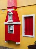 ιταλικό παράθυρο Στοκ Εικόνα